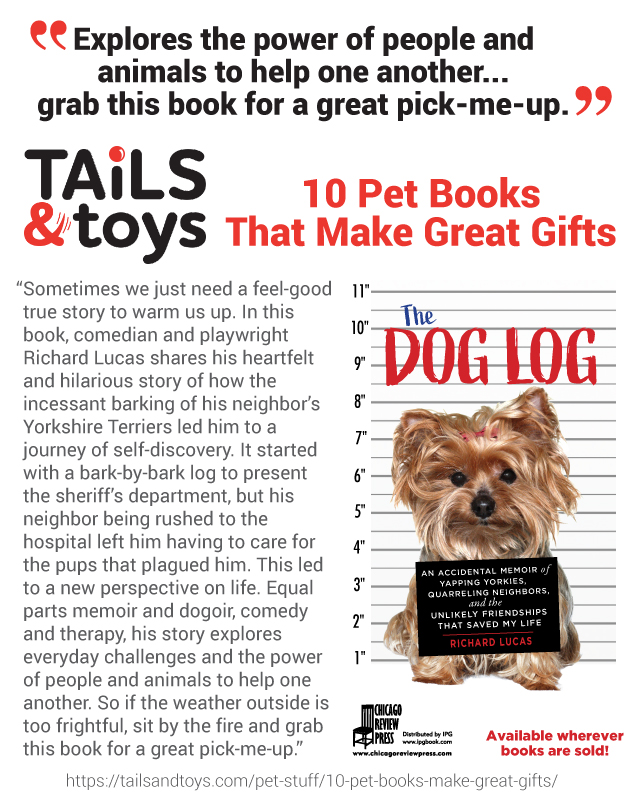 The Dog Log by Richard Lucas recommended by Tails and Toys!