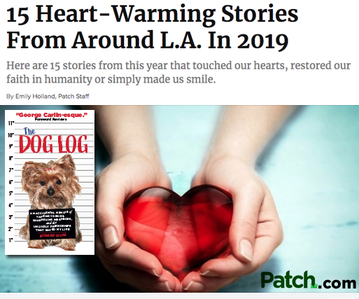 Richard Lucas and his book, The Dog Log, featured in 15 Heartwarming Stories From Around L.A. in 2019